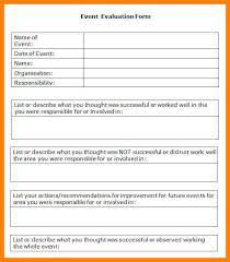 post event report template evaluation report template sle evaluation report 11