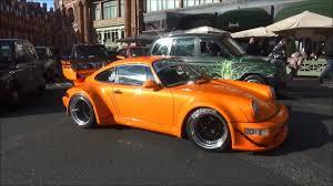 rwb porsche 911 rwb porsche 911 in start up and driving