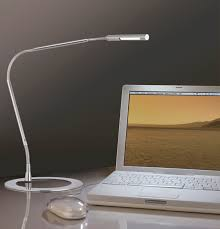 delighful desk lamp on 59 led mosso silver cool in decorating w