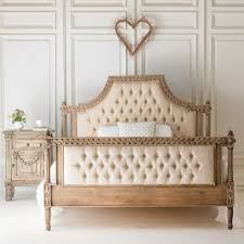 Upholstered Bed Frame Amelie Wood Upholsterd Bed By The Beautiful Bed Company
