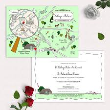 Olympic Invitation Cards Illustrated Map Party Or Wedding Invitation By Cute Maps