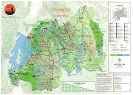 National Map Akagera National Park