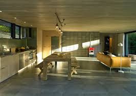 waiatarua house modern house with artistic balcony furniture for