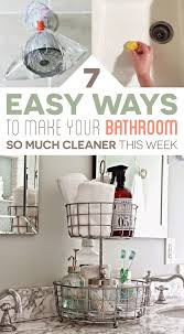 Bathtub Cleaning Tricks Best 25 Bathroom Cleaning Ideas On Pinterest Bathroom Cleaning