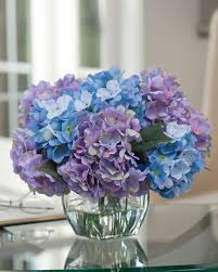silk hydrangea easily decorate with hydrangea silk flower centerpiece at petals