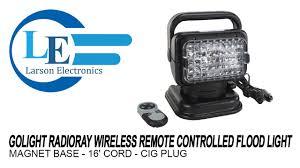 go light magnetic base golight radioray gl 7951 f wireless remote controlled flood light