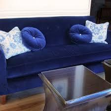 Blue Velvet Sectional Sofa by Furniture Blue Velvet Sofa Freshen The Room In Your House