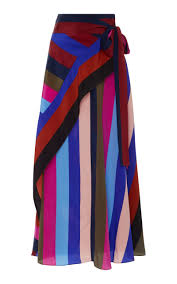 Draped Asymmetrical Maxi Skirt Draped Wrap Maxi Skirt By Diane Von Furstenberg For Preorder On