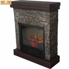 electric fireplace heater faux stone free standing tv stand 3750