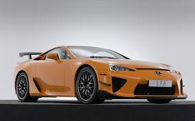 lexus lfa wallpaper yellow lfa