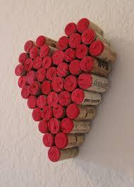 Valentine Decorations On Pinterest by Best 25 Cork Heart Ideas On Pinterest Wine Cork Projects Wine