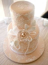 49 adorable lace wedding cakes happywedd com
