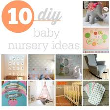 Diy Nursery Decor Top 10 Diy Baby Nursery Ideas Southern Savers