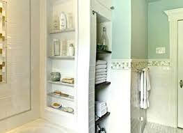 Bathroom In Wall Storage Towel Rack Ideas For Small Bathrooms Small Bathroom Towel Rack