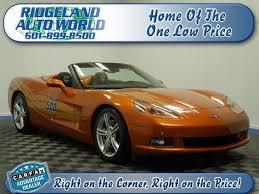 mississippi corvette chevrolet corvette mississippi 7 orange chevrolet corvette used
