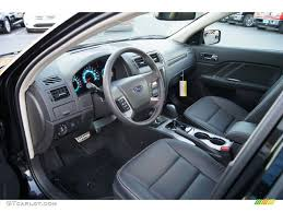 Ford Fusion Interior Pictures Charcoal Black Interior 2012 Ford Fusion Sport Photo 56936141