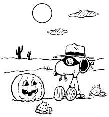 charlie brown halloween coloring pages download free printable