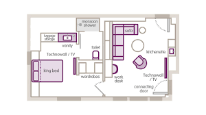 Gatwick Airport Floor Plan by Vip View Suite San Francisco Hotel Yotel