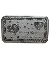 10 anniversary gift kataria jewellers wedding anniversary gift 10 grams silver coin in