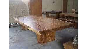 suar dining table extra large teak style bali table