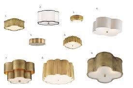 gold flush mount light ikea hack diy gold flush mount light kelly boyd design