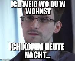Michaela Meme - ich wei罅 wo du wohnst edward snowden meme on memegen