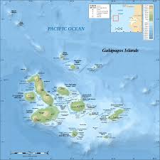 Geographical Map Of South America Galápagos Islands Wikipedia