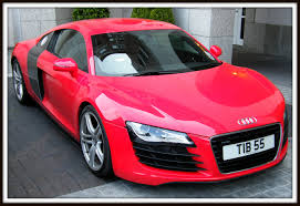 Audi R8 Red - new audi r8 in racing red beautifully presented and arranged