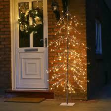 Twig Tree Home Decorating Artificial Christmas Trees Pre Lit Fibre Optic U0026 Pe And More