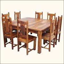 Square Dining Table 8 Chairs 40 8 Chair Dining Table Set White Cedar Dining Set