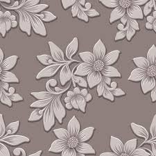 flowers seamless pattern element vector background vector volumetric flower seamless pattern element elegant luxury