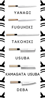 types of japanese kitchen knives tipos de cuchillos japoneses y sus usos knives japanese and blade