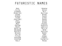 best 25 futuristic names ideas on names