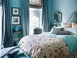 elegant blue bedroom color schemes white bed paint squaure shape