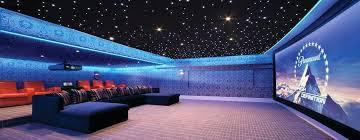 plafond chambre étoilé plafond etoile chambre une magnifique salle de cinacma privace avec