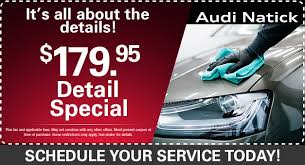 bernardi audi of natick ma audi service specials audi service center near burlington