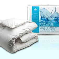 the seasons collection light warmth white goose down comforter all season down comforters for less overstock com