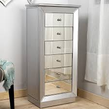 stores that sell jewelry armoire hives honey mia silver leaf and mirror jewelry armoire free