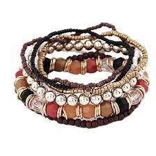 halloween beads wholesale amazon com susenstone 1 set 7pcs boho wholesale multilayer