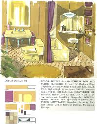vintage yellow color decorating a yellow bathroom color history and ideas from five