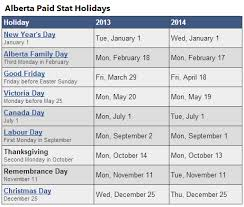 alberta stat holidays best 2017