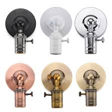 e27 e26 modern edison vintage ceiling light wall lamp bulb holder