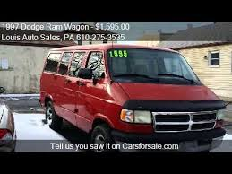 dodge ram vans for sale 1997 dodge ram wagon 1500 3dr passenger for sale in plym