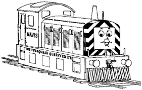 thomas train mavis coloring pages printable bebo pandco