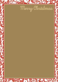 free christmas letterhead free printable christmas letterhead