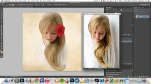 how to turn any image into a painting using the mixer brush tool in photo