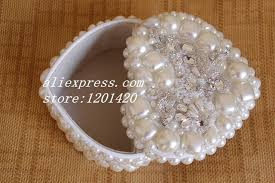 pearl necklace boxes images Pearl jewelry box cute princess jewelry boxes ivory pearls jpg