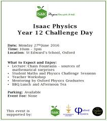 Challenge Physics Isaac Physics Year 12 Problem Solving Event Of Oxford