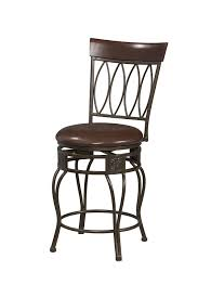 Linon Home Decor Products Inc Amazon Com Linon Four Oval Back Bar Stool 30 Kitchen U0026 Dining