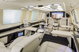 volkswagen minibus interior klassen luxury vip vans cars bus armoured limousine